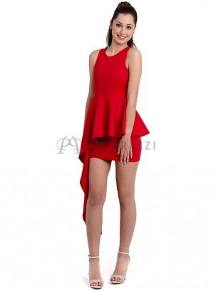 Vestido asimetrico