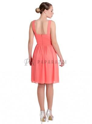 Vestido de gasa y encaje