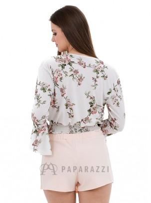Falda pantalón con detalle de botones