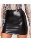 Minifalda de cuerina