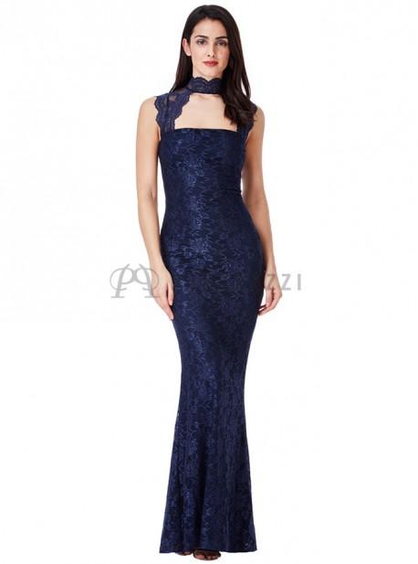 Vestido Corte Sirena De Encaje